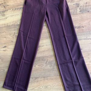 The Limited Burgundy pants